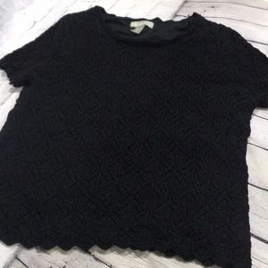 Kate hill black sweater top